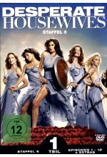 Desperate Housewives - Staffel 6.1  [3 DVDs] DVD-Cover