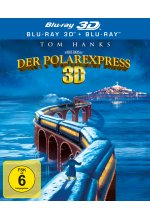 Der Polarexpress  (inkl. 2D-Version) Blu-ray 3D-Cover