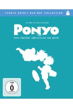 Ponyo - Das grosse Abenteuer am Meer - Studio Ghibli Collection Blu-ray-Cover
