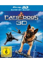 Cats & Dogs - Die Rache der Kitty Kahlohr  (+ Blu-ray) Blu-ray 3D-Cover