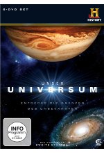Unser Universum - Staffel 2  [5 DVDs] DVD-Cover