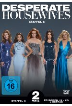 Desperate Housewives - Staffel 6.2  [3 DVDs] DVD-Cover