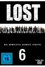 Lost - Staffel 6  [5 DVDs] DVD-Cover
