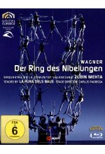 Richard Wagner - Der Ring des Nibelungen  [LE] [4 BRs] Blu-ray-Cover