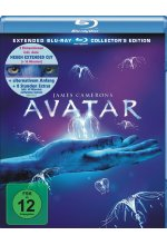 Avatar - Extended Edition  [CE] [3 BRs] Blu-ray-Cover