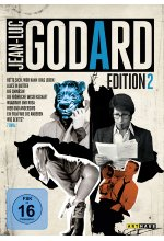 Jean-Luc Godard Edition 2  (OmU)  [7 DVDs] DVD-Cover