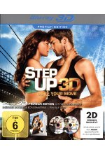 Step Up 3 - Make your move  Premium Edition  (+ DVD) Blu-ray 3D-Cover