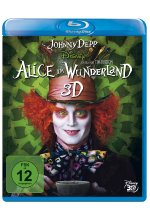 Alice im Wunderland Blu-ray 3D-Cover