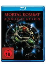 Mortal Kombat 2 - Annihilation Blu-ray-Cover