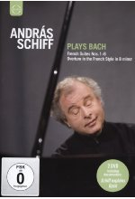 Andras Schiff plays Bach - French Suites Nos. 1-6/Overture in the French Style in B minor  [2 DVDs]<br> DVD-Cover