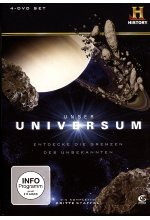Unser Universum - Staffel 3  [4 DVDs] DVD-Cover