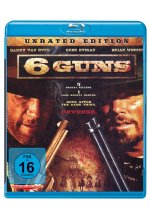 6 Guns - Unrated Edition Blu-ray-Cover