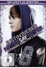 Justin Bieber - Never Say never - Extended Director's Edition DVD-Cover