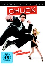 Chuck - Staffel 3  [5 DVDs] DVD-Cover