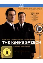 The King's Speech - Die Rede des Königs Blu-ray-Cover
