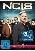NCIS - Naval Criminal Investigate Service/Season 7.1  [3 DVDs] DVD-Cover