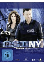 CSI: NY - Season 6/Box-Set 2  [3 DVDs] DVD-Cover