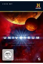 Unser Universum - Staffel 4  [4 DVDs] DVD-Cover