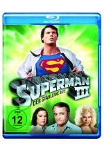 Superman 3 - Der stählerne Blitz Blu-ray-Cover