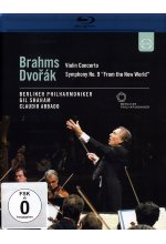 Brahms/Dvorak - Violin Concerto/Symphony No. 9 From the New World Blu-ray-Cover