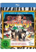 Jumanji Blu-ray-Cover