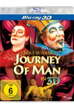 Cirque du Soleil - Journey of Man  (OmU) Blu-ray 3D-Cover