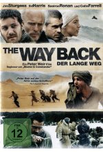 The Way Back - Der lange Weg DVD-Cover