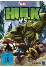 Hulk vs Thor & Wolverine DVD-Cover