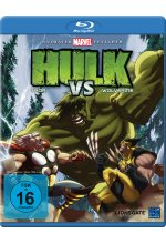 Hulk vs Thor & Wolverine Blu-ray-Cover
