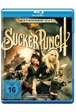 Sucker Punch - Extended Cut  [2 BRs] Blu-ray-Cover