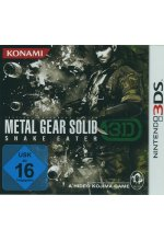 Metal Gear Solid - Snake Eater 3D Cover