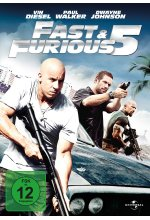 Fast & Furious 5 DVD-Cover