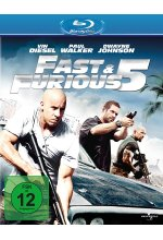 Fast & Furious 5 Blu-ray-Cover