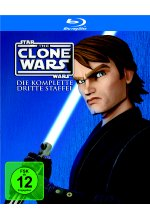 Star Wars - The Clone Wars - Staffel 3  [3 BRs] Blu-ray-Cover