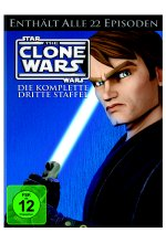 Star Wars - The Clone Wars - Staffel 3  [5 DVDs] DVD-Cover
