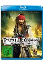 Pirates of the Caribbean 4 - Fremde Gezeiten Blu-ray-Cover