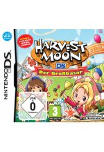 Harvest Moon DS - Der Großbasar Cover