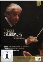 Sergiu Celibidache - In Rehearsal and Performance DVD-Cover