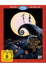 Nightmare before Christmas Blu-ray 3D-Cover