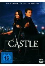 Castle - Staffel 3  [6 DVDs] DVD-Cover