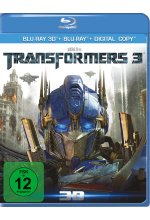 Transformers 3  (+ Blu-ray) <br> <br> Blu-ray 3D-Cover