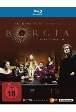 Borgia - Staffel 1  [DC] [4 BRs] Blu-ray-Cover