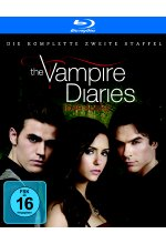 The Vampire Diaries - Staffel 2  [4 BRs] (+ Bonus-DVD) Blu-ray-Cover
