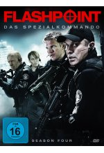 Flashpoint - Das Spezialkommando - Season 4  [4 DVDs] DVD-Cover