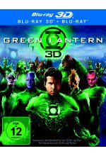 Green Lantern  (+ Blu-ray) Blu-ray 3D-Cover