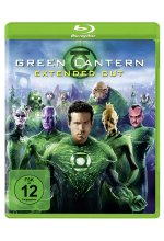 Green Lantern - Extended Cut Blu-ray-Cover