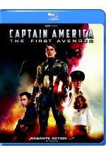 Captain America - The First Avenger Blu-ray-Cover