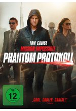 Mission: Impossible 4 - Phantom Protokoll DVD-Cover