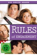Rules of Engagement - Season 2  [2 DVDs] DVD-Cover