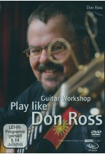 Don Ross - Play Like Don Ross/Guitar Workshop  (+ Noten/Tabulaturenbuch) DVD-Cover